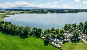 Luftbild Campingplatz Stadler am Waginger See