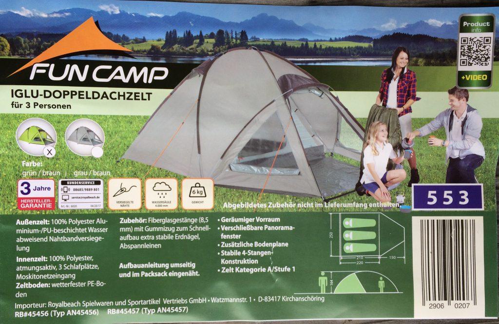 Zelt zu mieten